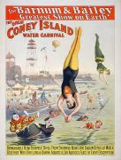 Bailey Island Framed Prints - Coney Island Carnival, 1898 Framed Print by Granger