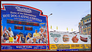 Fast Food Framed Prints - Coney Island Memories 10 Framed Print by Madeline Ellis
