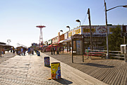 Parachute Jump Prints - Coney Island Memories 8 Print by Madeline Ellis