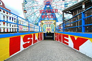 Bklyn Prints - Coney Island Sign Print by Mark Gilman