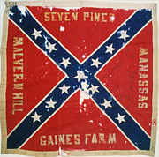 Confederate Flag Photo Posters - Confederate Flag Poster by Granger