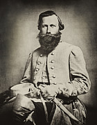Confederate Photo Posters - Confederate Jeb Stuart Poster by Paul W Faust -  Impressions of Light