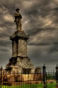 Grave Photo Originals - Confederate Memorial by Jason Blalock