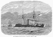 Ironclad Prints - Confederate Ship, 1865 Print by Granger