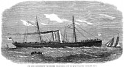 Liverpool Prints - Confederate Warship, 1865 Print by Granger