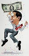 Manager Framed Prints - Confetti man Framed Print by Denny Bond