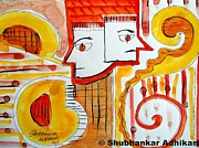 Conflict Paintings - Conflict by Shubhankar Adhikari
