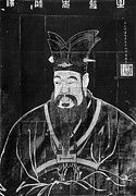 Iron  Drawings Prints - Confucius Print by Granger