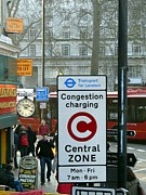 London Congestion Framed Prints - Congestion Framed Print by Rdr Creative