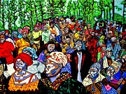 Pride Paintings - Congo by Brenda Marik-schmidt