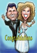 Humorous Prints - Congratulations  Print by Kevin Middleton