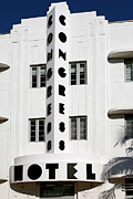Congress Hotel. Miami. Fl. Usa Print by Juan Carlos Ferro Duque