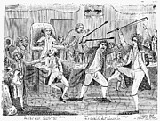 Congressional Pugilists Print by Granger