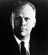 Congressman Framed Prints - Congressman Gerald R. Ford, Circa 1965 Framed Print by Everett