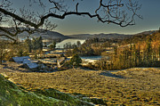 Coniston Art - Coniston from Boon Crag by Alex Bradley