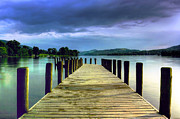 Coniston Art - Coniston Jetty by Neil Wharton