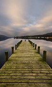 Coniston Art - Coniston Long Jetty by John D Hare