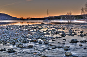 Coniston Art - Coniston Water AM by Alex Bradley