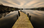 Coniston Art - Coniston Water Jetty by John D Hare