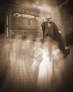 Haunted Mansion Photos - Conjurer of Spirits by Liezel Rubin