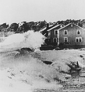 Heavy Weather Prints - Connecticut During Hurricane Carol Print by Science Source