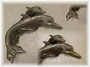 Dolphin Sculpture Originals - Connection by Evie Harper
