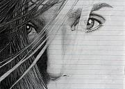 Eyes Detail Drawings - Connellys Eyes by Ted Castor