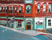 Southwest Images And Landscapes - Connor Hotel in Jerome by Betty Pieper