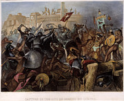 Shield Posters - Conquest Of Mexico, 1521 Poster by Granger