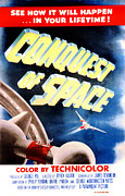 1950s Movies Prints - Conquest Of Space, 1955 Print by Everett