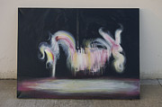 Carousel Art Painting Originals - Conscious by Allison Whitley
