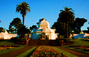 Conservatory Of Flowers Photos - Conservatorio di Fiori by Glenn Franco Simmons