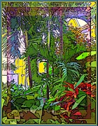 Conservatory Sunlight Print by Mindy Newman