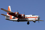 Consolidated P4y-2 Privateer N2871g Tanker 121 Phoenix-mesa Gateway Airport March 9 2012 Print by Brian Lockett