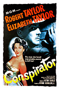 Postv Photos - Conspirator, Elizabeth Taylor, Robert by Everett