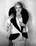 Bennett Framed Prints - Constance Bennett, 1930 Framed Print by Everett