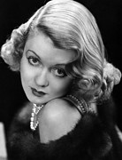 Fur Trim Framed Prints - Constance Bennett, Circa 1930s Framed Print by Everett
