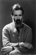 Beards Photo Prints - Constantin Brancusi 1876-1957 Print by Everett