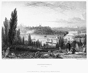 1833 Prints - Constantinople, 1833 Print by Granger