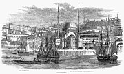 Embassy Prints - Constantinople, 1853 Print by Granger