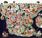 Byzantine Posters - Constantinople Poster by Photo Researchers