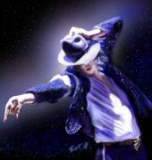 King Of Pop. Dancer Paintings - Constellation - Slot 89 by Reggie Duffie
