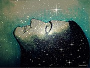 Constellations Mixed Media Prints - Constellation Of Dreams Print by Paulo Zerbato