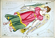 Wing Mirror Posters - Constellation: Virgo, 1825 Poster by Granger