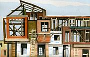 Construction 5 Print by Ashley Lathe