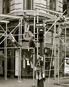 Real People Art Photos - Construction Ballet by Jerry Patterson
