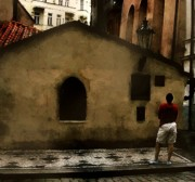 Prague Digital Art - Contemplating Antiquity by RC DeWinter