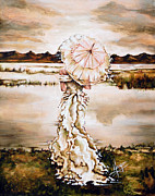 Cloudy Paintings - Contemplation by Karina Llergo Salto