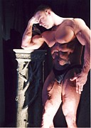 Photoart By Jake Metal Prints - Contemplation of Hercules Metal Print by Jake Hartz