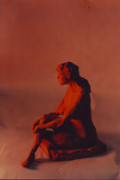 Nude Sculpture Originals - Contemplation by William Zeidlik